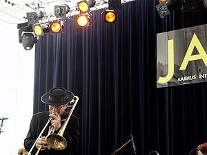 Erling Kroner - Erling Kroner at Aarhus Jazz Festival in 2009.  Photo Hreinn Gudlaugsson