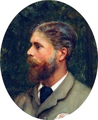 Ernest Waterlow - Self-portrait (1890)