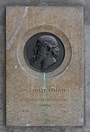 Ernst Ludwig (1842-1915) Nr. 99 basrelief (bronce) in the Arkadenhof of the University of Vienna 2523-Bearbeitet.jpg