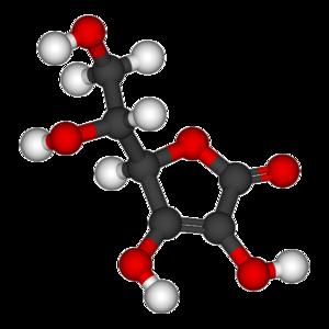 Erythorbic acid - Image: Erythorbic acid 3D balls