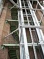 Escalera caracol y hueco del ascensor en la Catedral de La Plata.jpg