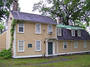 Esek Hopkins - Esek Hopkins House, built ca. 1754