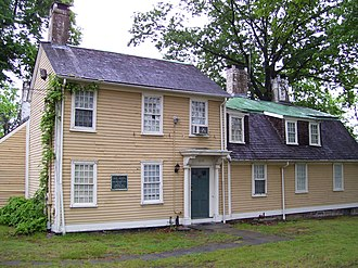 Esek Hopkins - Esek Hopkins House, built ca. 1754