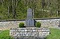 Essershausen, Friedhof, Gefallenendenkmal.JPG