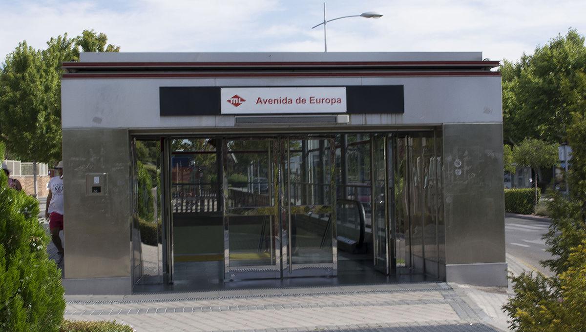Avenida de europa wikidata for Metro ligero colonia jardin