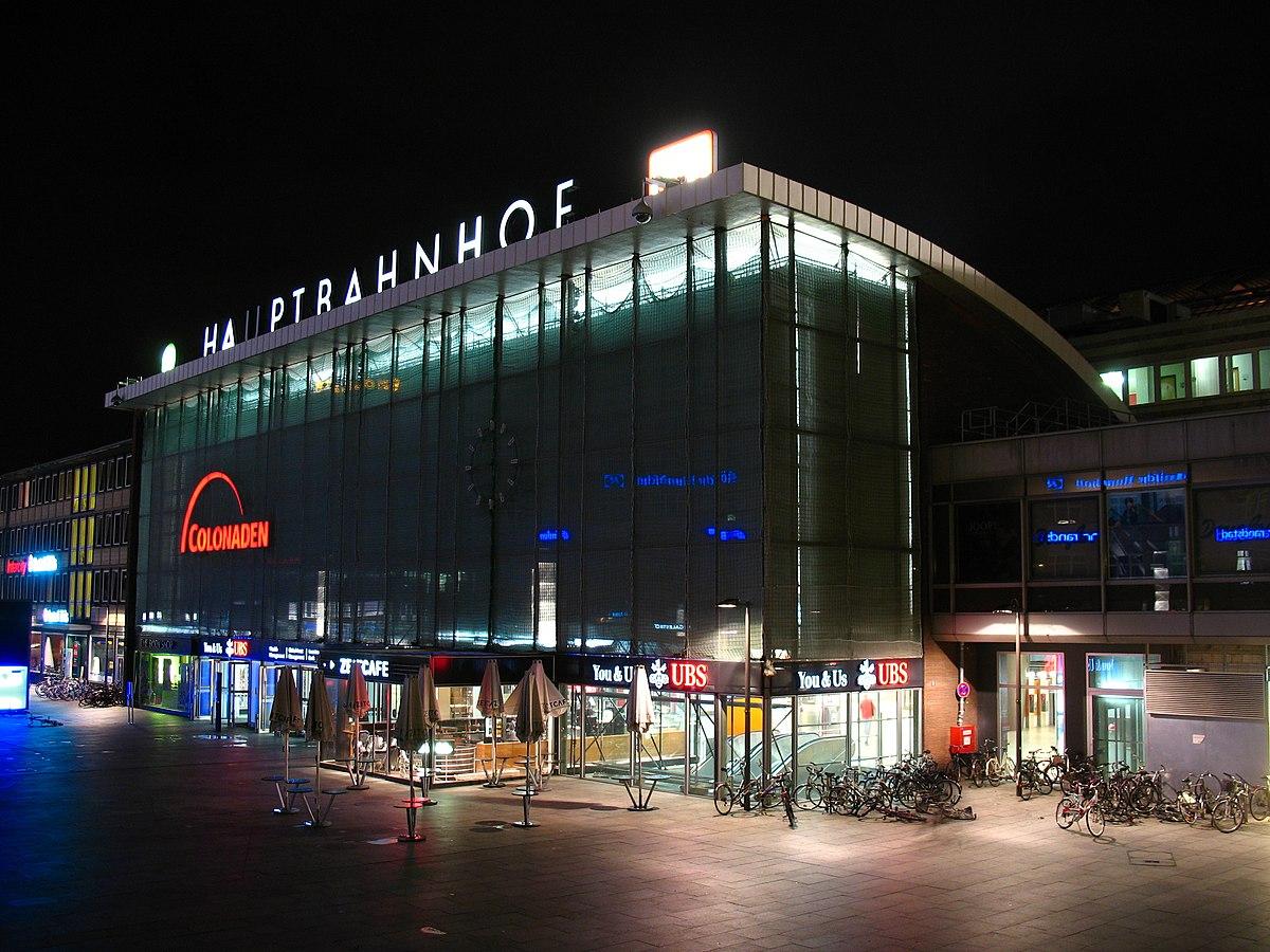 Estación Central de Colonia - Wikipedia, la enciclopedia libre