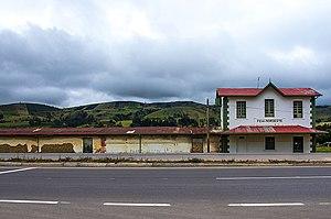 Chocontá - Image: Estación del Ferrocarril Chocontá
