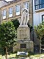 Estatua de Alfonso II, el primer rey peregrino de Oviedo a Santiago de Compostela.jpg