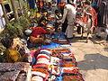 Ethnic Ornaments Hawkers & Religious Ox - Gangasagar Fair Transit Camp - Kolkata 2012-01-14 0783.JPG