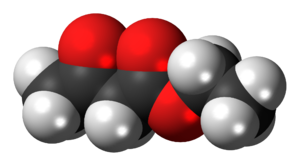 Ethyl acetoacetate - Image: Ethyl acetoacetate 3D spacefill