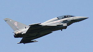 The Eurofighter Typhoon is the second most exp...