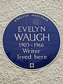 Evelyn Waugh 1903 - 1966 writer lived here.jpg