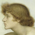 Evelyn de Morgan - Phosphorus and Hesperus, (1881) detail - upscaled 200% using Waifu2x in Photo mode with Medium noise reduction.png