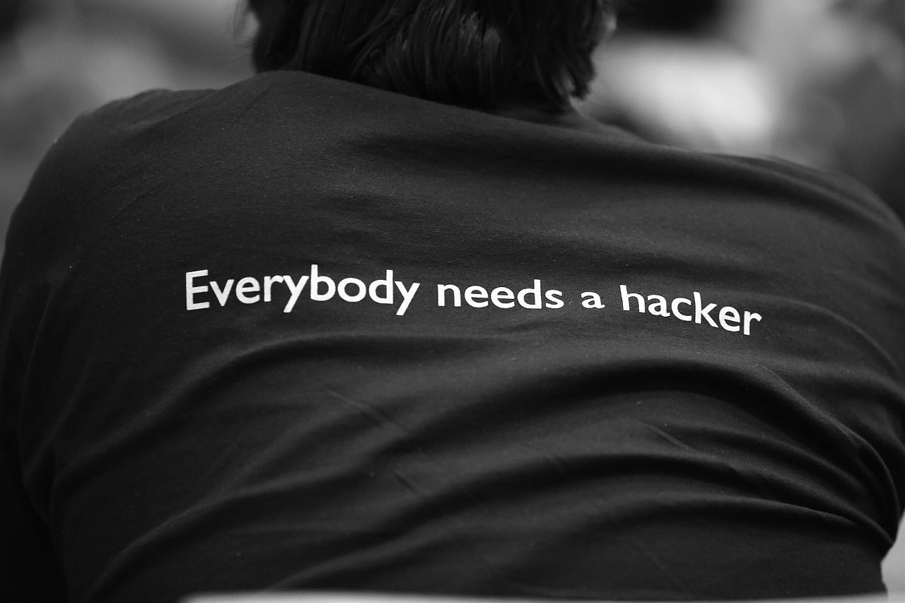 File:Everybody needs a hacker (8442476626).jpg - Wikimedia Commons