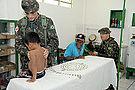 Los médicos del ejército brasileño en Tabatinga.