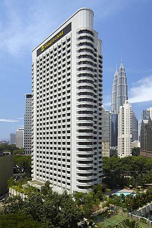 Shangri-La Kuala Lumpur - Image: Exterior at Shangri La Kuala Lumpur