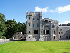 Gosford Castle - South front of the castle