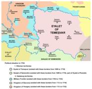 Eyalet of temesvar1699