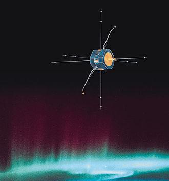 Fast Auroral Snapshot Explorer - Illustration of FAST
