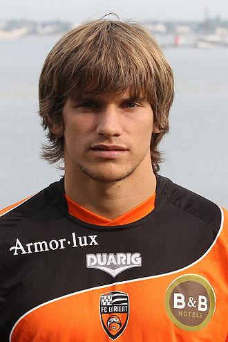 Sebastián Dubarbier - Dubarbier as a Lorient player
