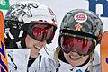 FIS Moguls World Cup 2015 Finals - Megève - 20150315 - Maxime et Justine Dufour-Lapointe 1.jpg