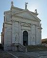 Facciata sul canale della Giudecca della Basilica del Redentore Venezia.JPG