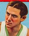 Face detail, Nat Holman, 1933 Goudey Gum Company card (cropped).jpg