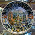 Faenza o marche, piatto con davide che vince golia, 1507.JPG