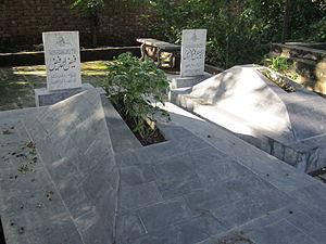 Faiz Ahmad Faiz - Faiz Ahmed Faiz's grave in Model Town G Block Graveyard, Lahore.