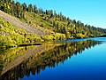 Fall Reflection on Twin Lakes, CA 9-16 (31236262975).jpg