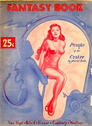 "Andre Norton - Norton's novelette ""The People of the Crater"", published under her ""Andrew North"" pseudonym, was the cover story in the debut issue of Fantasy Book in 1947"