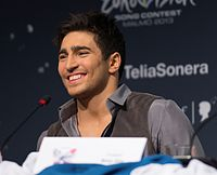 Farid Mammadov, ESC2013 press conference.jpg