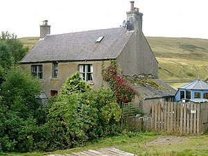 James Hogg - The farmhouse at Blackhouse, where Hogg worked as a young man
