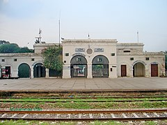 Farooqabad Railway Station built during the British Rule around nineteenth century.