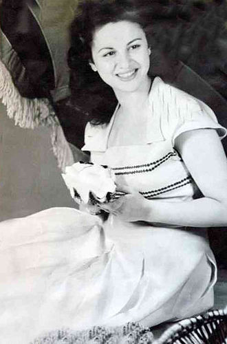 Faten Hamama - Hamama in the 1950s