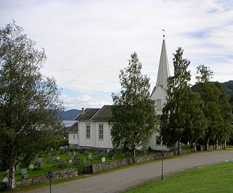 Feiring, Norway - Feiring Church in Eidsvoll