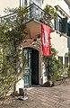 Feistritz im Rosental Weizelsdorf 1 Schloss Ebenau Portal und Balkon 30092018 4832.jpg