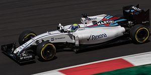 Williams FW38 - Image: Felipe Massa 2016 Malaysia FP2