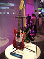 Fender Mustang Pro Guitar Controller for Rock Band 3 @ E3 Expo 2010.jpg