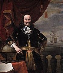 Portrait of Michiel de Ruyter (1607-1676)