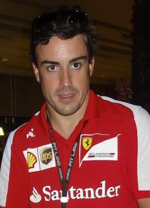 2013 Indian Grand Prix - Fernando Alonso completed minimal running during Friday's first practice session due to a gearbox problem on his Ferrari car