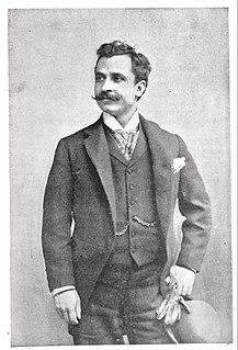 Fernando De Lucia Italian opera singer 1861-1925