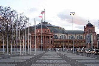 MTV Europe Music Award - Festhalle Frankfurt, venue in 2001 and 2012.