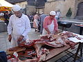 Festival in Limoges - slaughtered pig 01.JPG