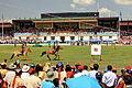 Festiwal Naadam na stadionie narodowym w Ułan Bator 05.JPG