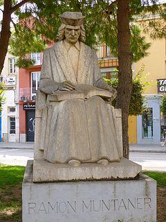 Ramon Muntaner Catalan writer and soldier
