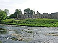 Finchale Priory, seen from Finchale Banks (across the River Wear) - geograph.org.uk - 453641.jpg