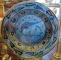 Firenze, bacile con cinghiale, 1450-1500.JPG