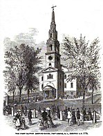 First Baptist Church in America in RI