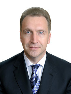 Igor Shuvalov Russian politician